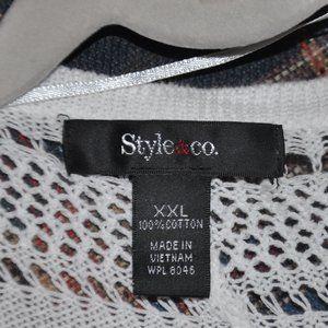 Style & Co Jackets & Coats - **FINAL PRICE** White Shrug